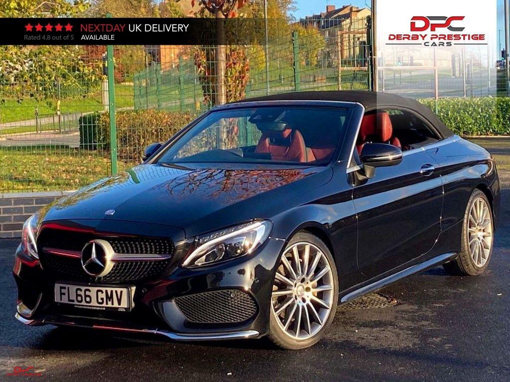 Mercedes-Benz C Class Convertible 2.1 C220d AMG Line Cabriolet G-Tronic+ (s/s) 2dr
