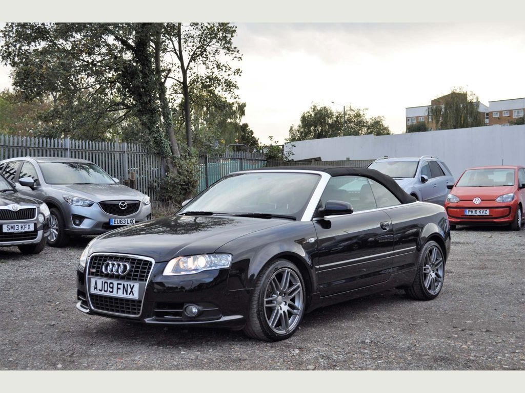Audi A4 Cabriolet Convertible 2.0 TDI Final Edition Cabriolet Multitronic 2dr