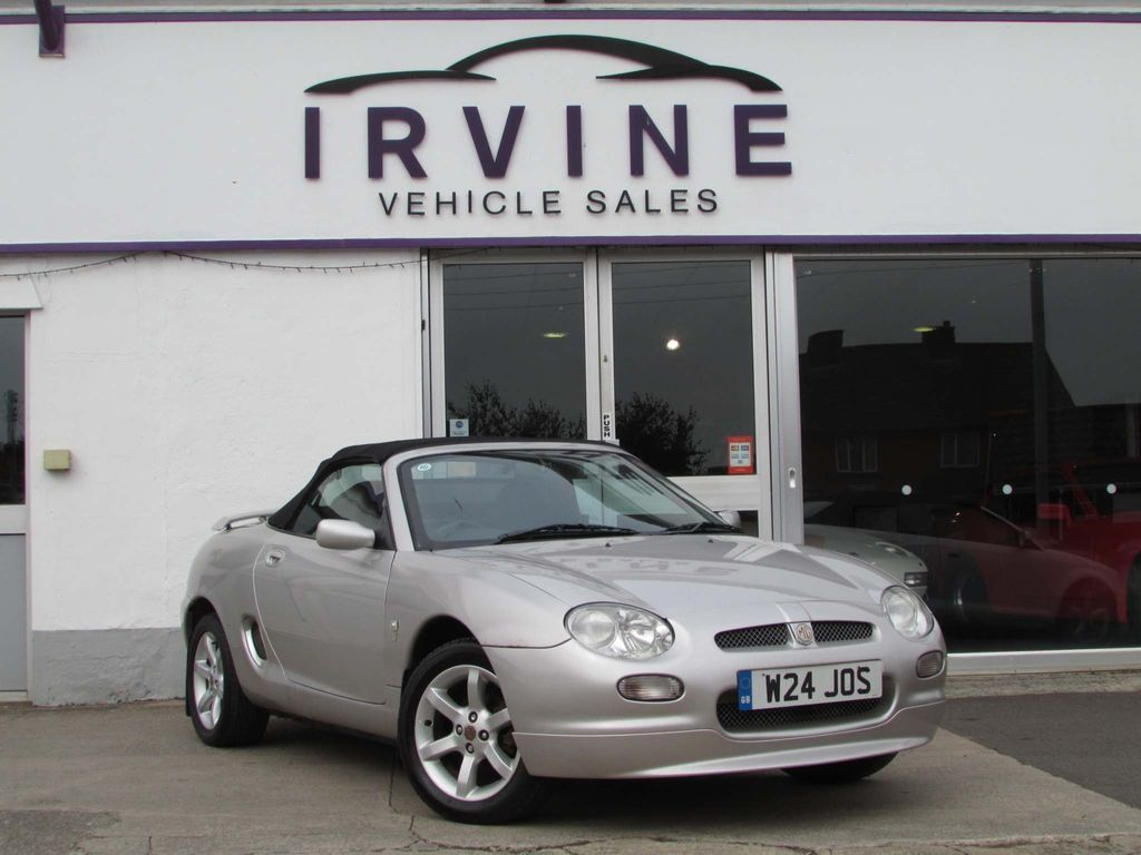 MG MGF Convertible 1.8 i Steptronic 2dr