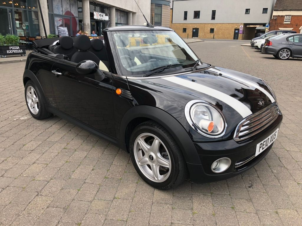 MINI Convertible Convertible 1.6 Cooper (Chili and Media XL) (s/s) 2dr