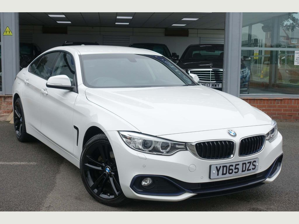 BMW 4 Series Gran Coupe Saloon 2.0 420d Sport Gran Coupe xDrive (s/s) 5dr