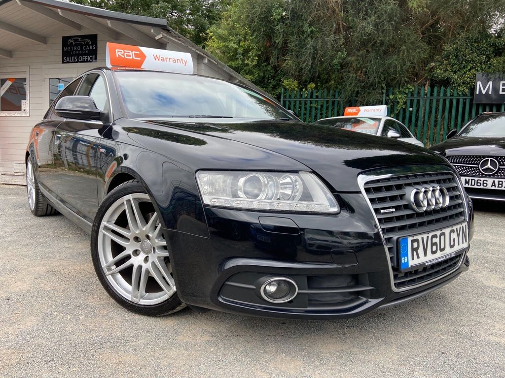 Audi A6 Saloon Saloon 2.7 TDI V6 S line Special Edition Tiptronic quattro 4dr