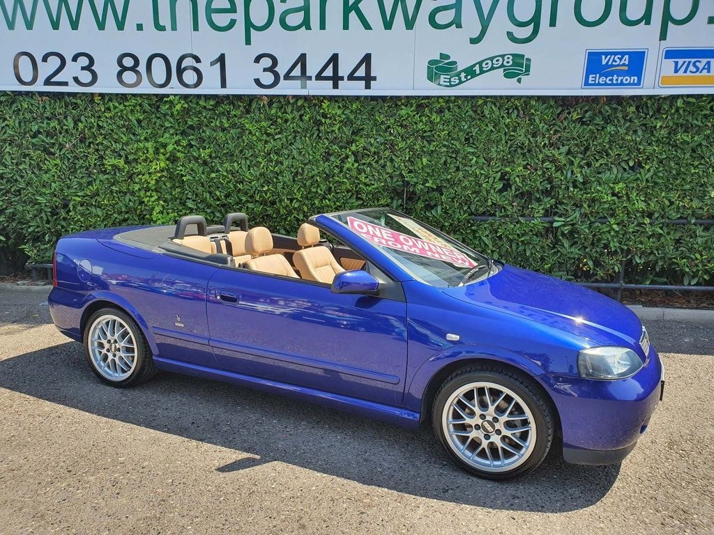 Vauxhall Astra Convertible 1.8 i 16v Edition 100 2dr