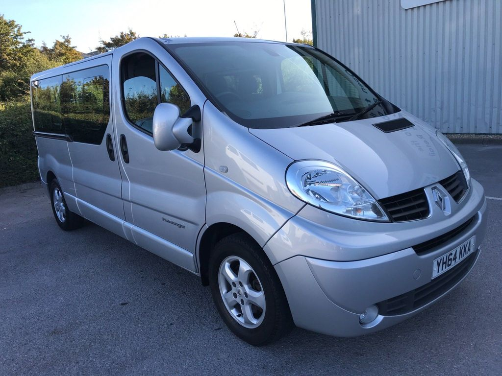 RENAULT TRAFIC Other 2.0 dCi LL29 Sport Phase 3 Mini Bus 4dr (9 Seats, EU5)