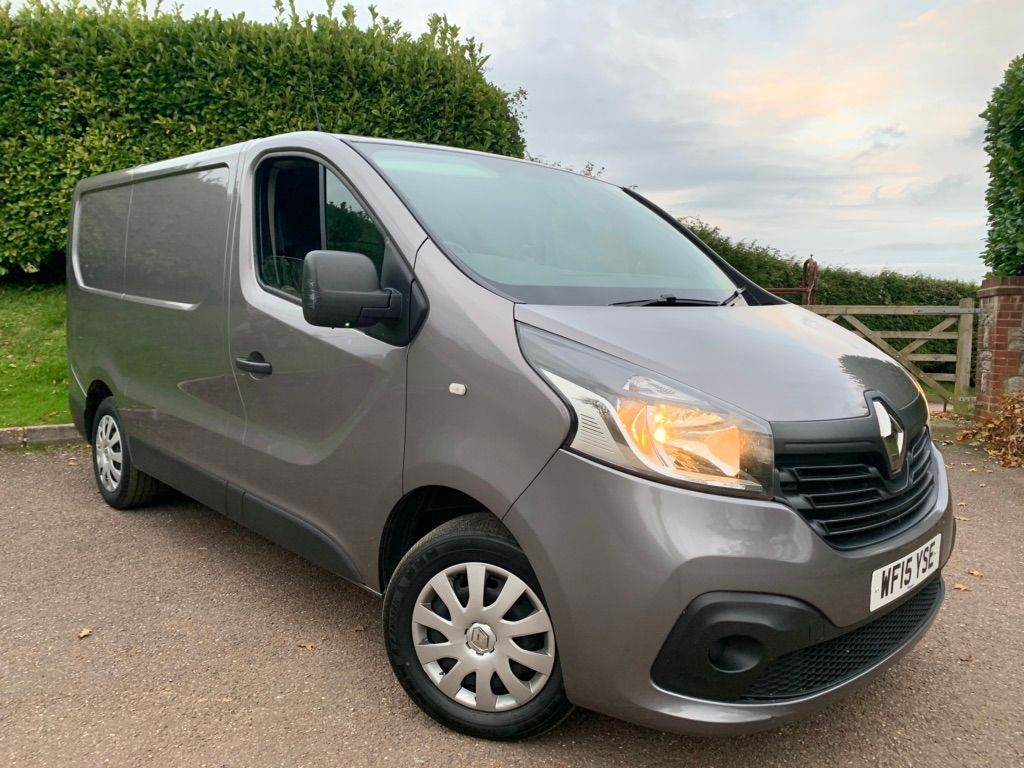 Renault Trafic Panel Van 1.6 dCi 27 Business+ L1H1 Panel Van 5dr Diesel Manual (170 g/km, 115 bhp)