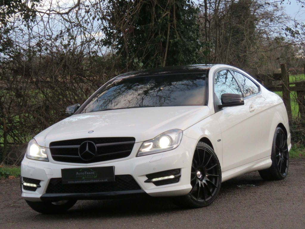 Mercedes-Benz C Class Coupe 1.8 C180 BlueEFFICIENCY AMG Sport Edition 125 2dr