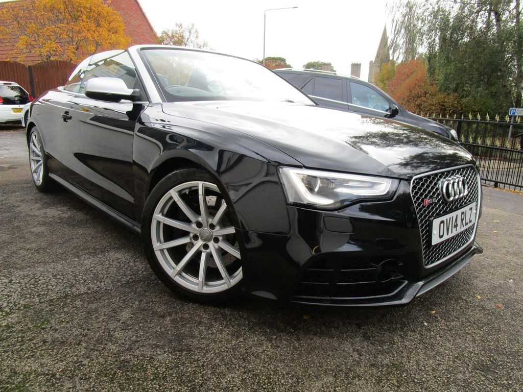 Used Audi Rs5 Convertible 4 2 Fsi Cabriolet S Tronic Quattro 2dr In Mansfield Nottinghamshire Toothill Prestige