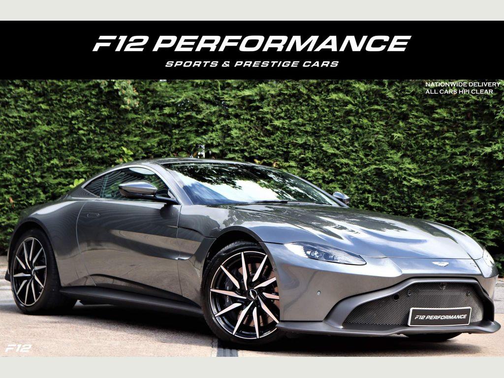 Aston Martin Vantage Coupe 4.0 V8 Auto 2dr