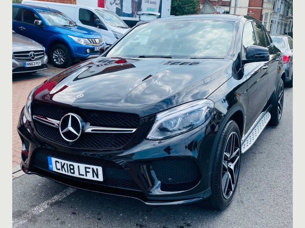 Mercedes-Benz GLE Class Coupe 3.0 GLE350d V6 AMG Night Edition (Premium Plus) G-Tronic 4MATIC (s/s) 5dr