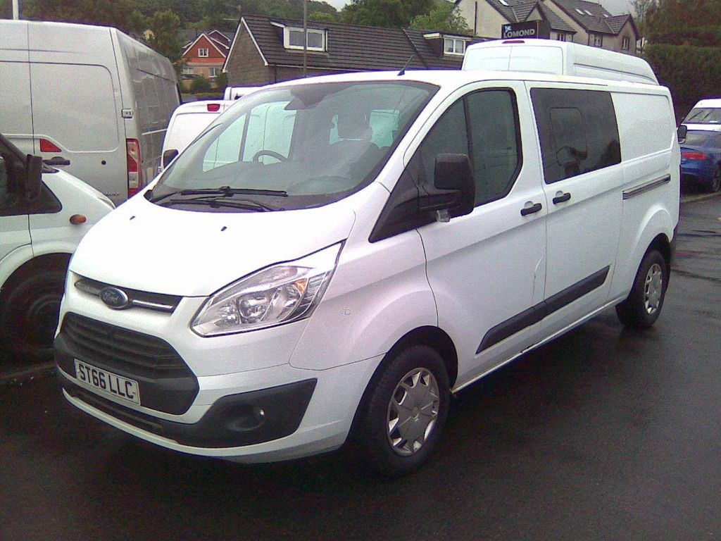 Ford Transit Custom Combi Van 2.0 TDCi 290 Double Cab-in-Van L2 H1 6dr (EU6)