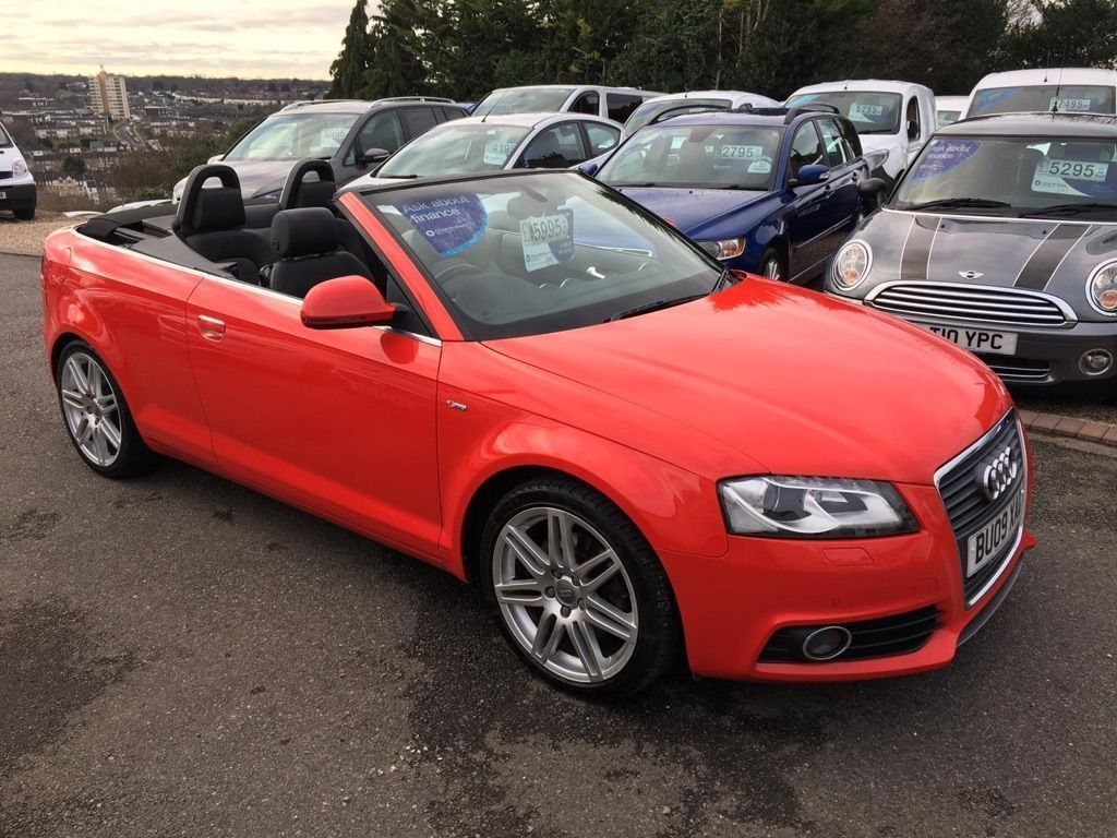 Audi A3 Cabriolet Convertible 2.0 TFSI S line S Tronic 2dr