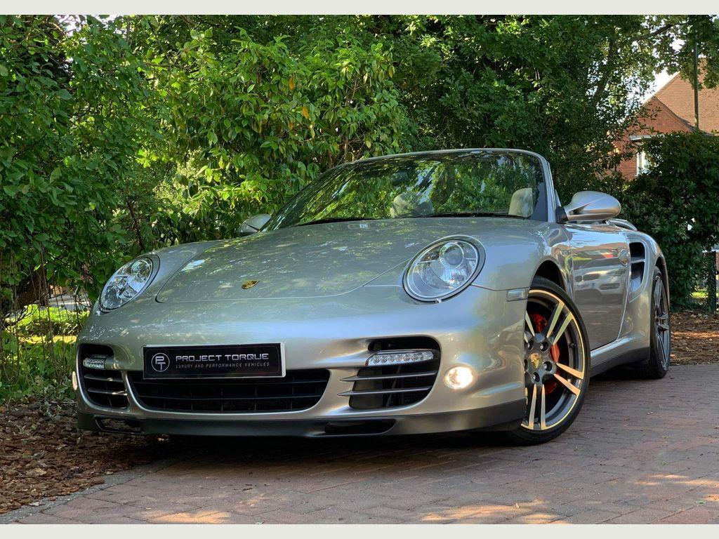 Porsche 911 Convertible 3.8 997 Turbo Cabriolet PDK AWD 2dr