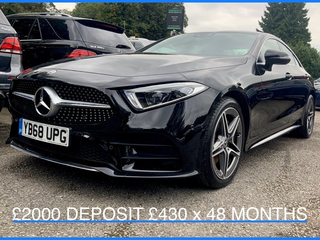 Mercedes-Benz CLS Coupe 3.0 CLS350d AMG Line G-Tronic 4MATIC (s/s) 4dr