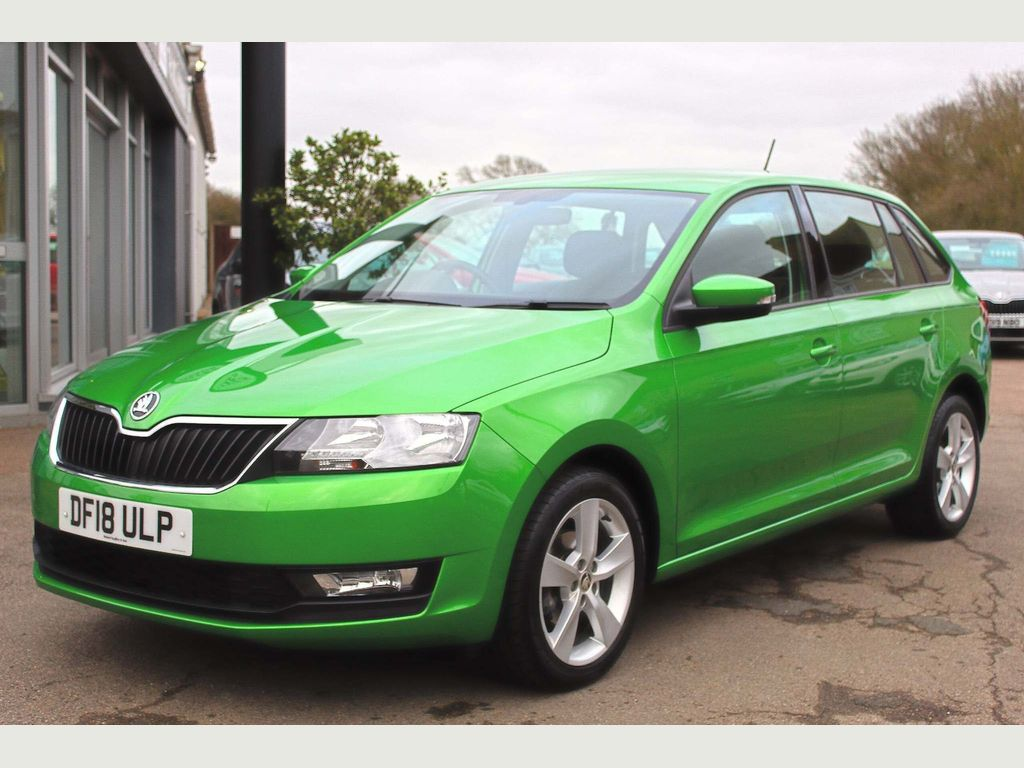 SKODA Rapid Spaceback Hatchback 1.0 TSI SE Tech Spaceback DSG (s/s) 5dr