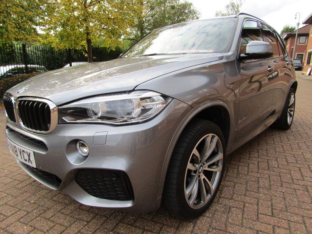 BMW X5 SUV xDRIVE 30D M SPORT AUTO 258 BHP 7 SEATER