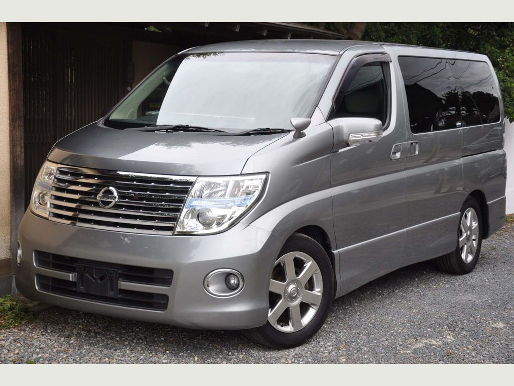 Nissan Elgrand MPV HIGHWAY STAR SILVER LEATHER EDITION