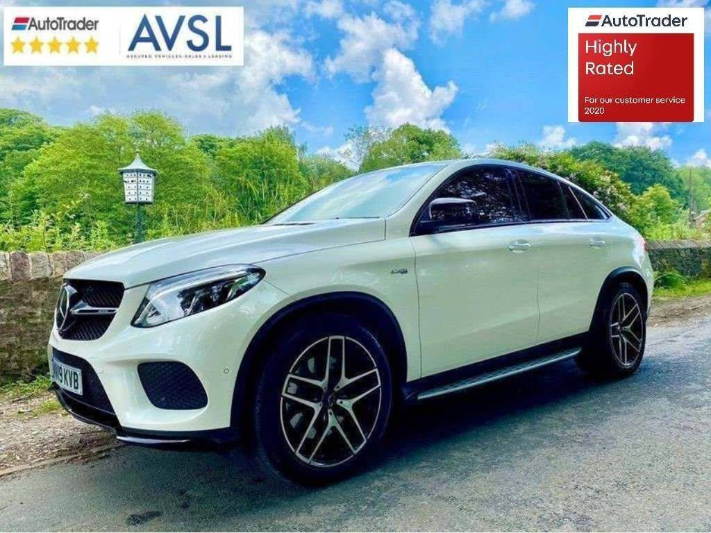 Mercedes-Benz GLE Class Coupe 3.0 GLE43 AMG Night Edition G-Tronic+ 4MATIC (s/s) 5dr