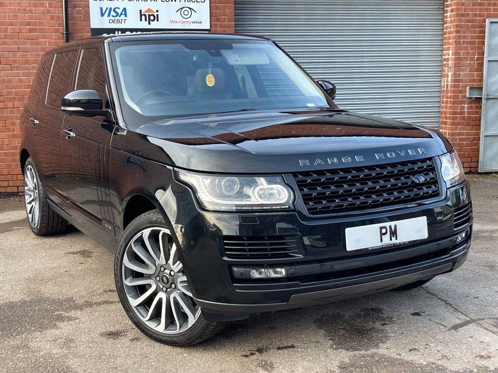 Land Rover Range Rover SUV 4.4 SD V8 Autobiography Black Auto 4WD 5dr LWB