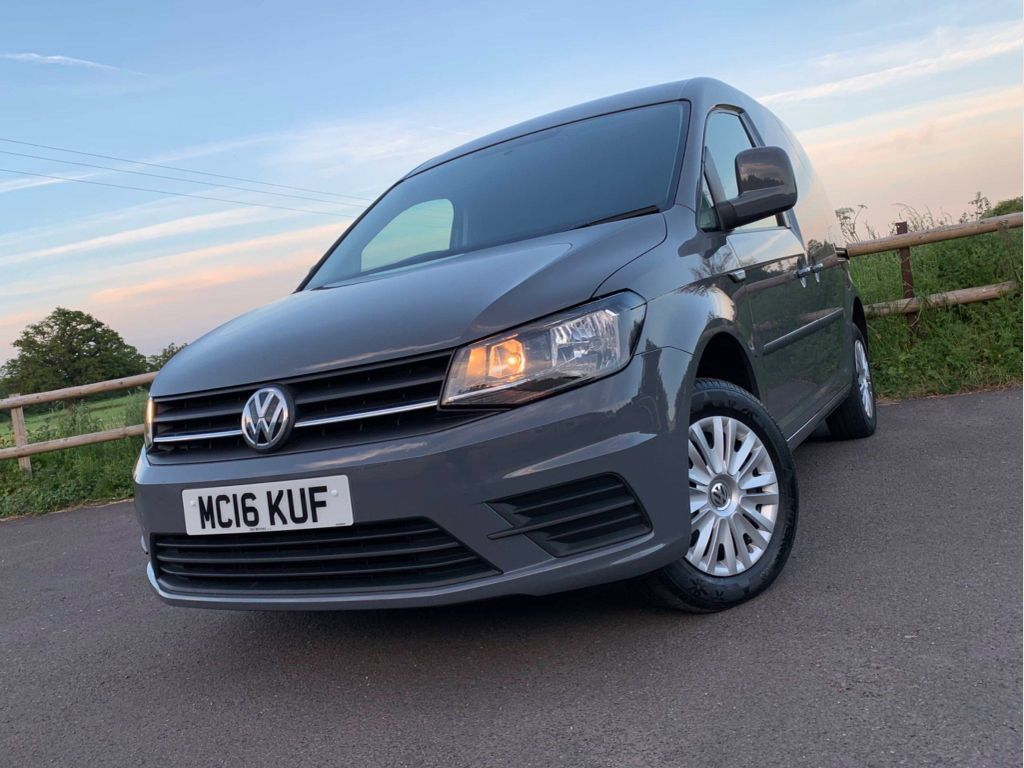 VOLKSWAGEN CADDY Panel Van 2.0 TDI BlueMotion Tech C20+ Trendline Panel Van 5dr (EU6)