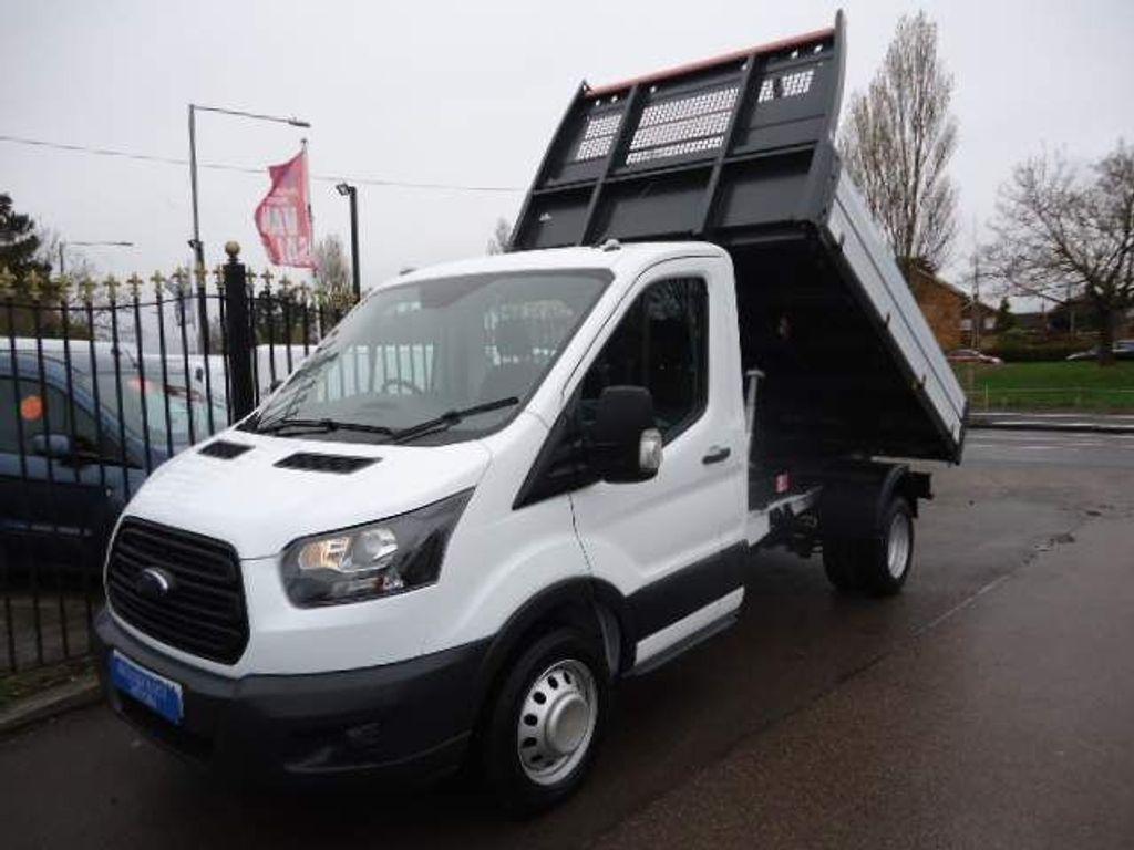 Ford Transit Tipper 2.0 350 EcoBlue 1-Way Tipper RWD L2 EU6 2dr (1-Stop, DRW)