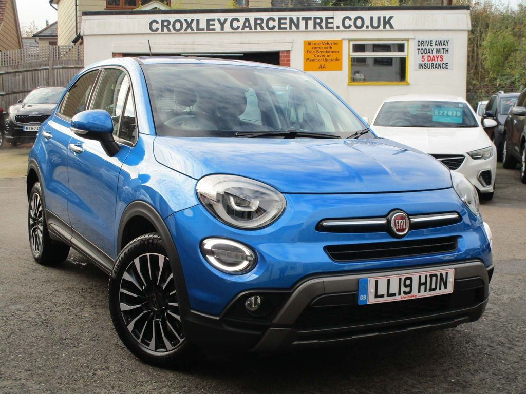 Fiat 500X SUV 1.0 FireFly Turbo MultiAir City Cross (s/s) 5dr