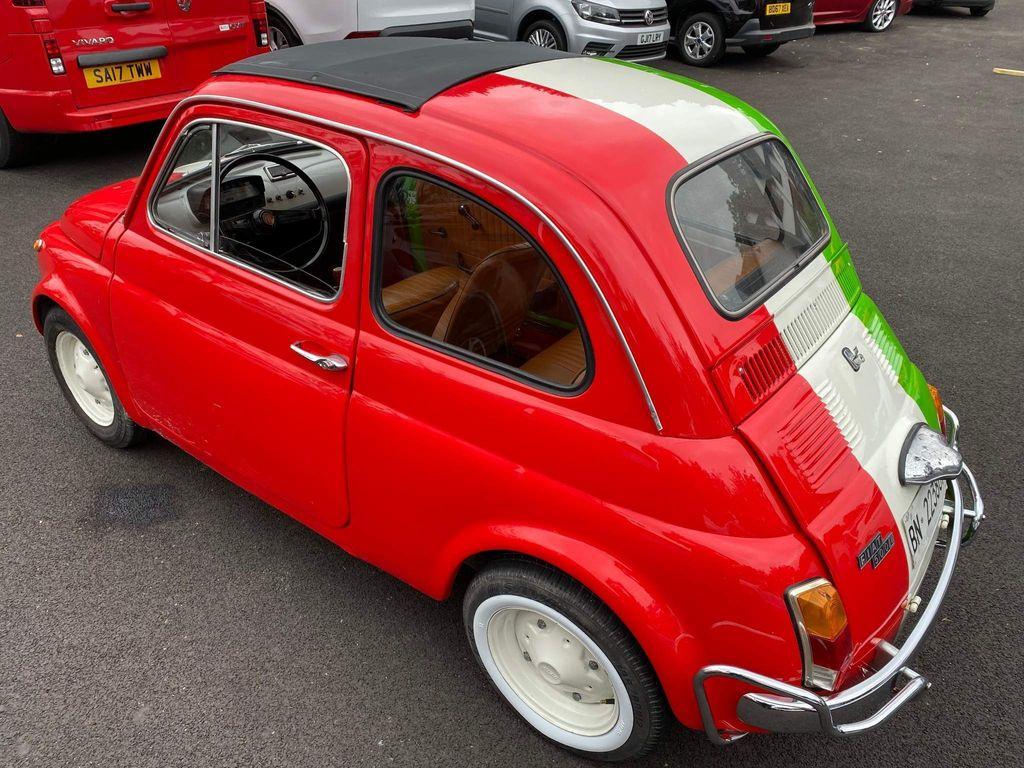 Fiat 500 Saloon