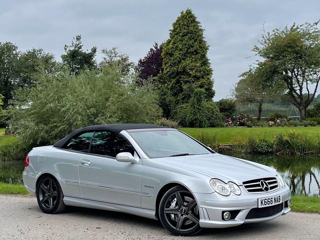 Mercedes-Benz CLK Convertible 6.2 CLK63 AMG Cabriolet 7G-Tronic 2dr