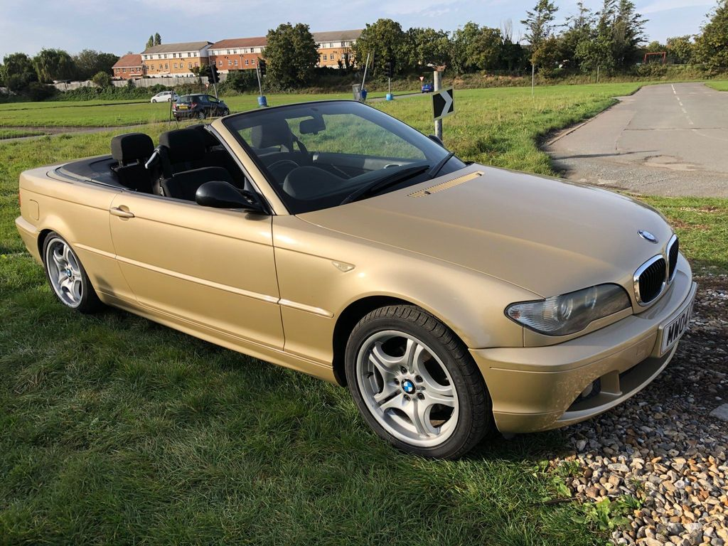 BMW 3 Series Convertible 2.0 318Ci 318 SE 2dr