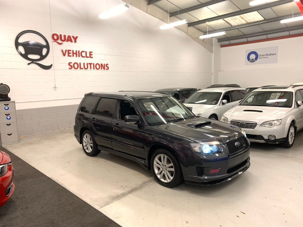 Subaru Forester SUV JDM SG5 CROSS SPORTS 2.0L TURBO AUTO