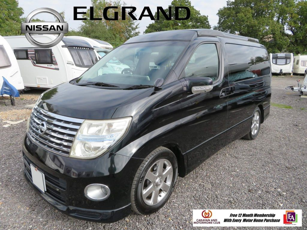 Nissan 4 berth pop top El Grand Campervan