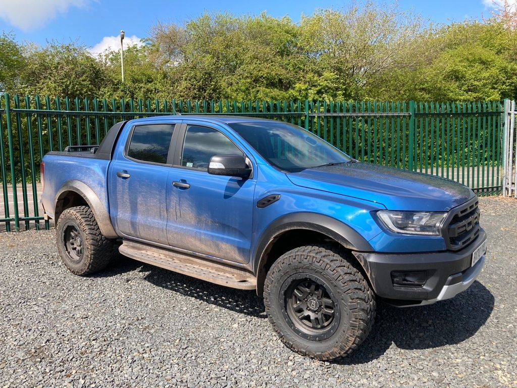 Ford Ranger Pickup 2.0 EcoBlue Raptor Double Cab Pickup Auto 4WD (s/s) 4dr