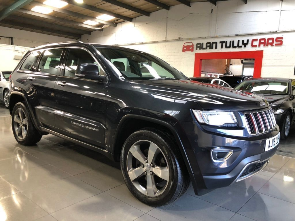 Jeep Grand Cherokee SUV 3.0 V6 CRD Limited Plus Auto 4WD 5dr