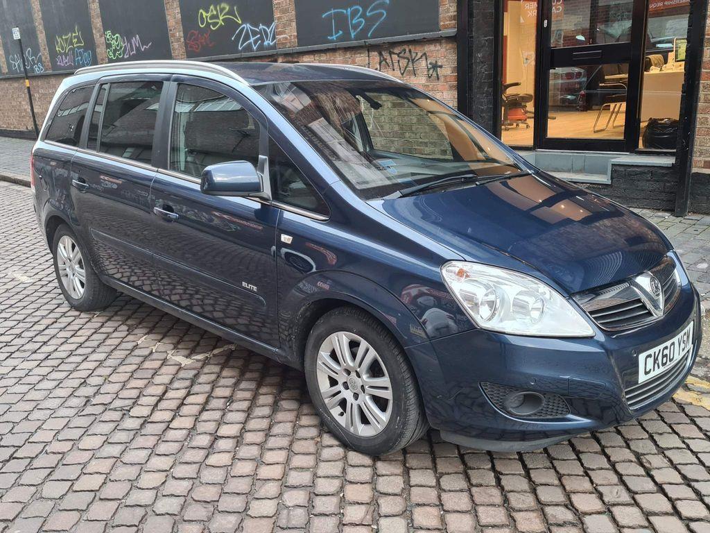 Vauxhall Zafira MPV 1.8 i VVT 16v Elite 5dr