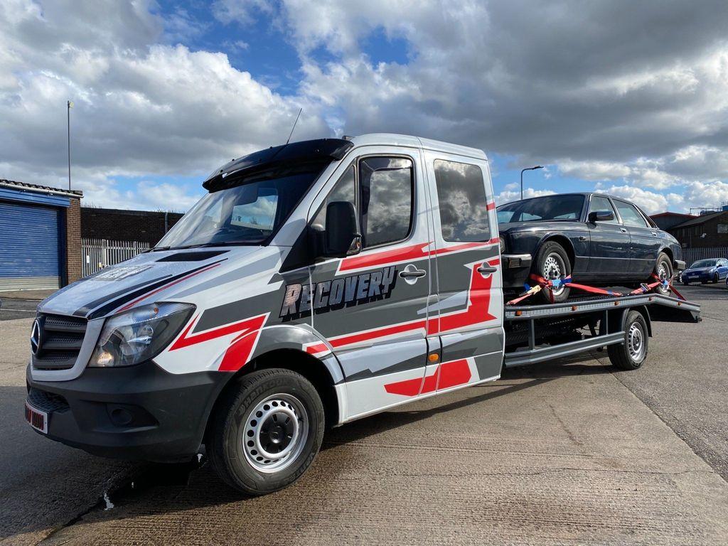 Mercedes-Benz Sprinter Vehicle Transporter 2.1 CDI 311 Crewcab 4dr (LWB)