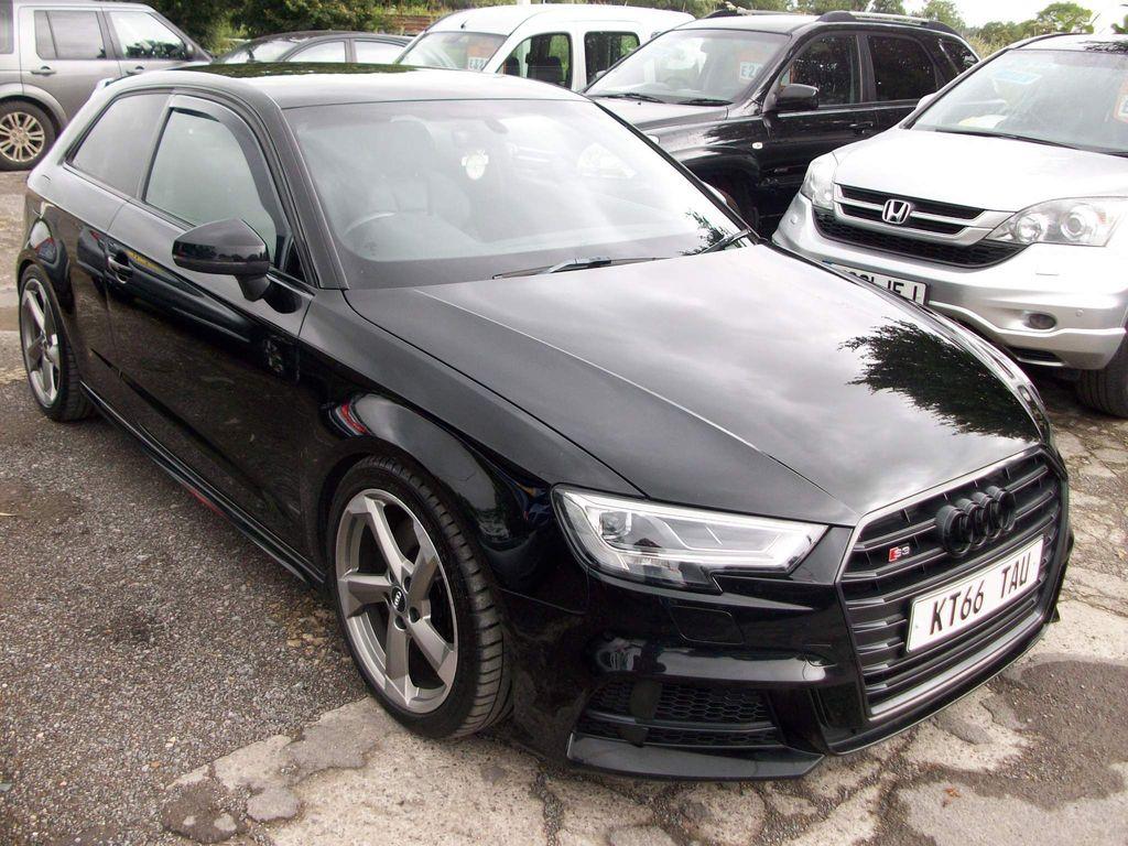 Audi S3 Hatchback 2.0 TFSI Black Edition S Tronic quattro (s/s) 3dr