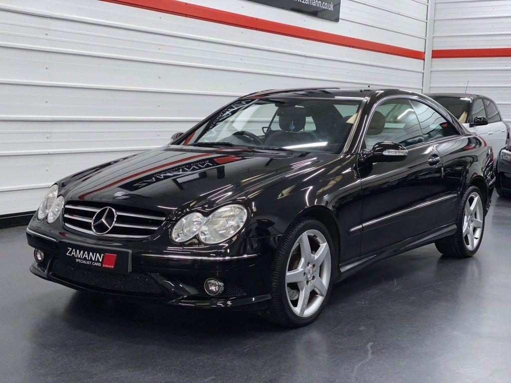 Mercedes-Benz CLK Coupe 2.1 CLK220 CDI Sport 2dr