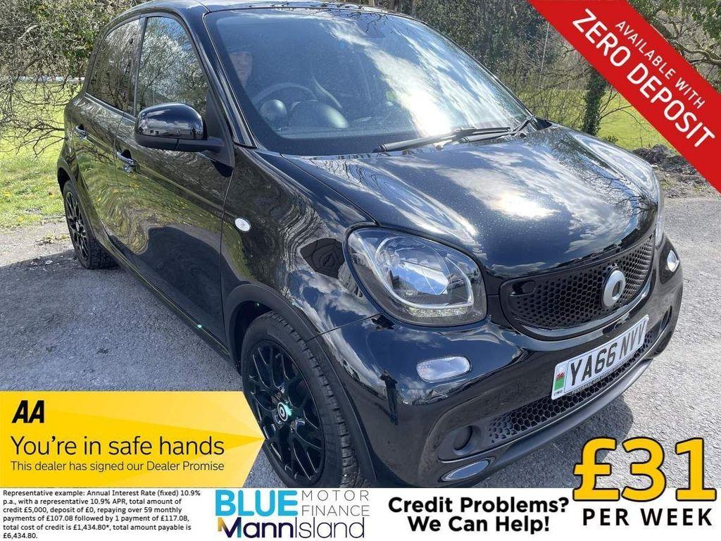 Smart forfour Hatchback 1.0 Edition Black (s/s) 5dr