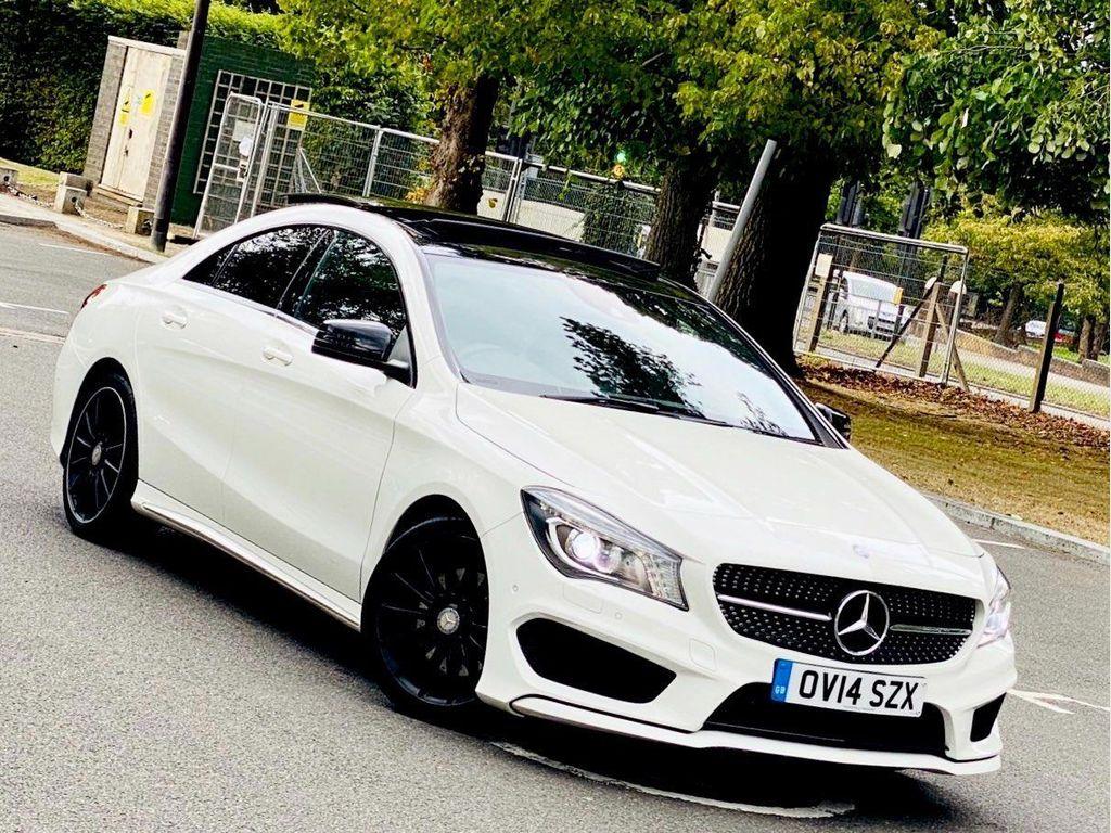 Mercedes-Benz CLA Class Coupe 2.0 CLA250 AMG Sport 7G-DCT 4MATIC 4dr
