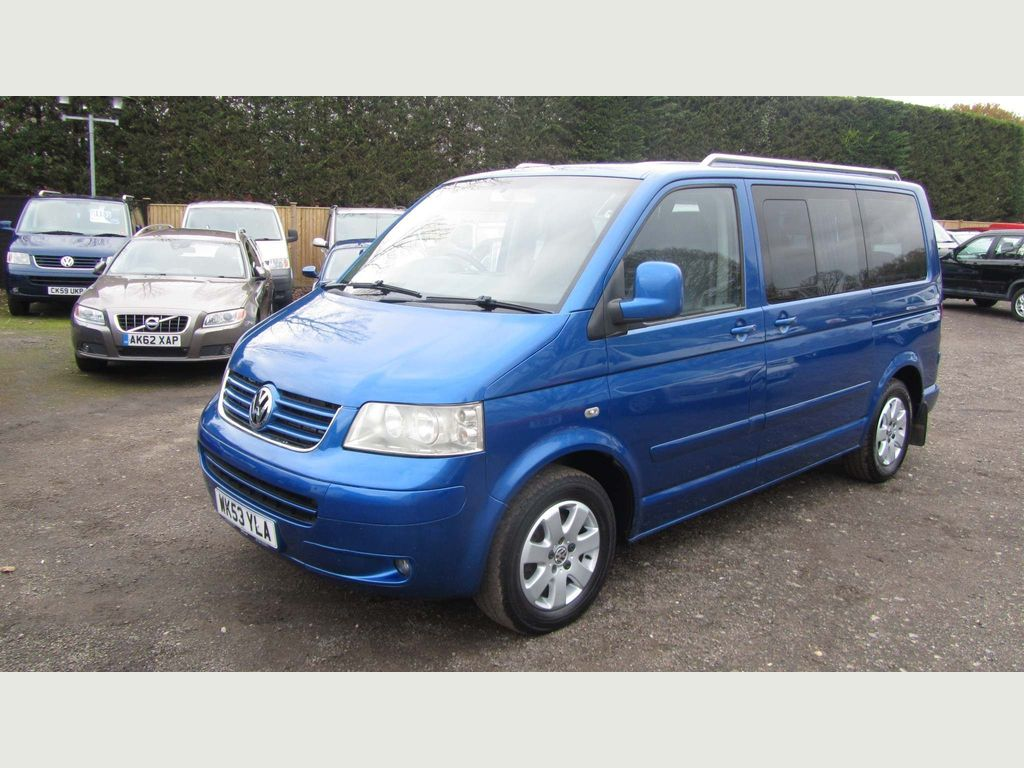 Volkswagen Caravelle MPV 2.5 TDI SE Bus 4dr (7 Seats)
