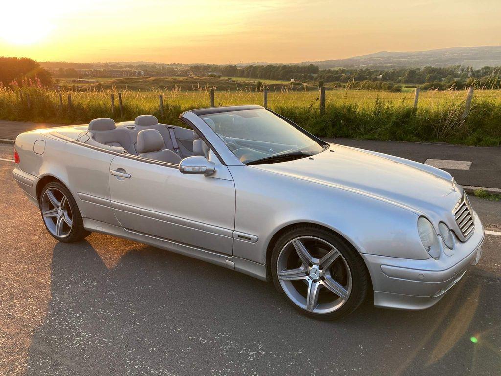 Mercedes-Benz CLK Convertible 2.3 CLK230 Kompressor Avantgarde Cabriolet 2dr