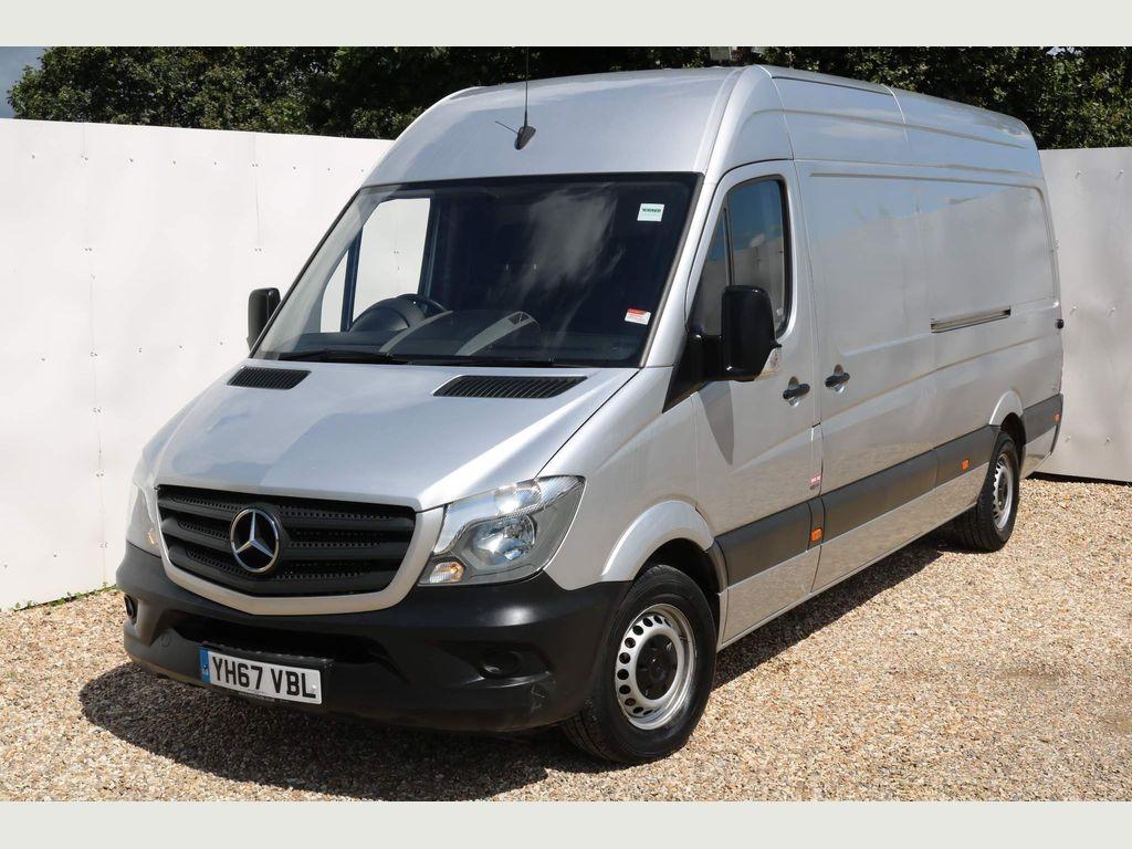Mercedes-Benz Sprinter Panel Van 2.1 CDI 314 Extra High Roof Panel Van XLWB 5dr (EU6, XLWB)