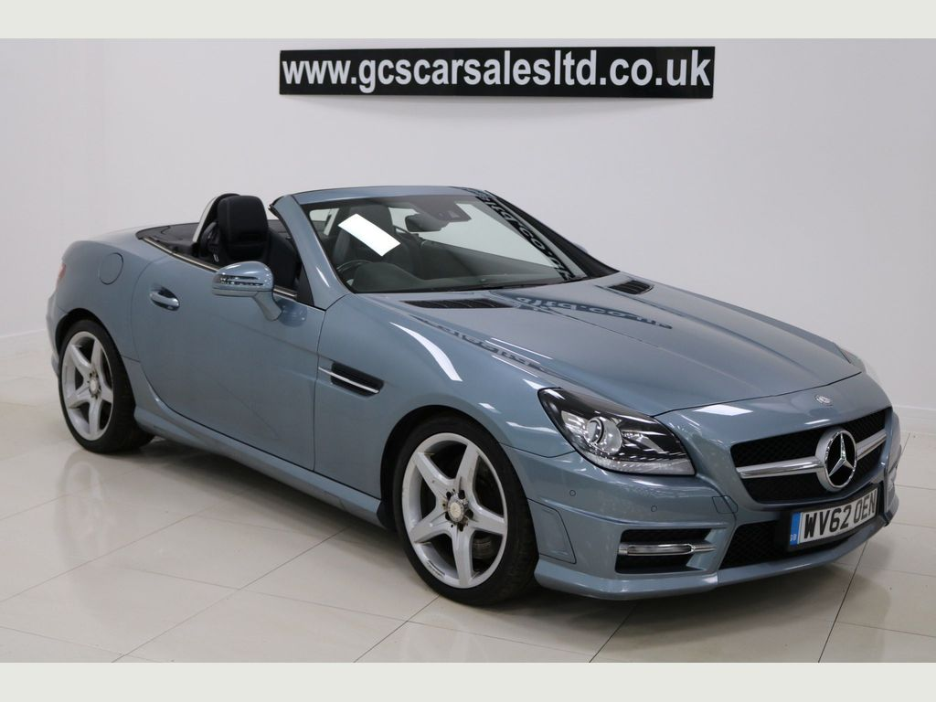 Mercedes-Benz SLK Convertible 1.8 SLK250 BlueEFFICIENCY AMG Sport 7G-Tronic Plus (s/s) 2dr
