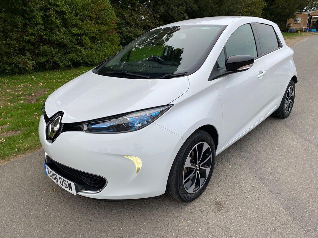 Renault Zoe Hatchback R90 41kWh Dynamique Nav Auto 5dr (Battery Lease)