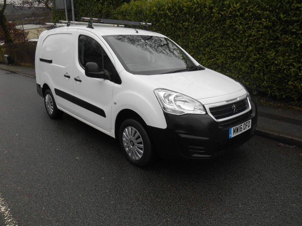 Peugeot Partner Panel Van 1.6 BlueHDi (Eu6) SE L2 750 (s/s) 4dr