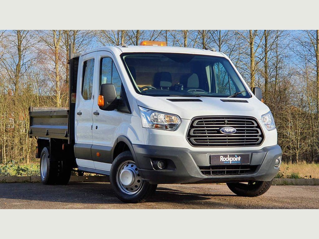 Ford Transit Tipper 2.2 TDCi 350 1-Way Double Cab Tipper RWD L3 EU5 4dr (1-Stop, DRW)