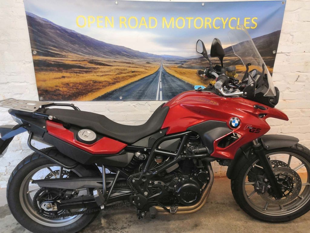 BMW F700GS Unlisted