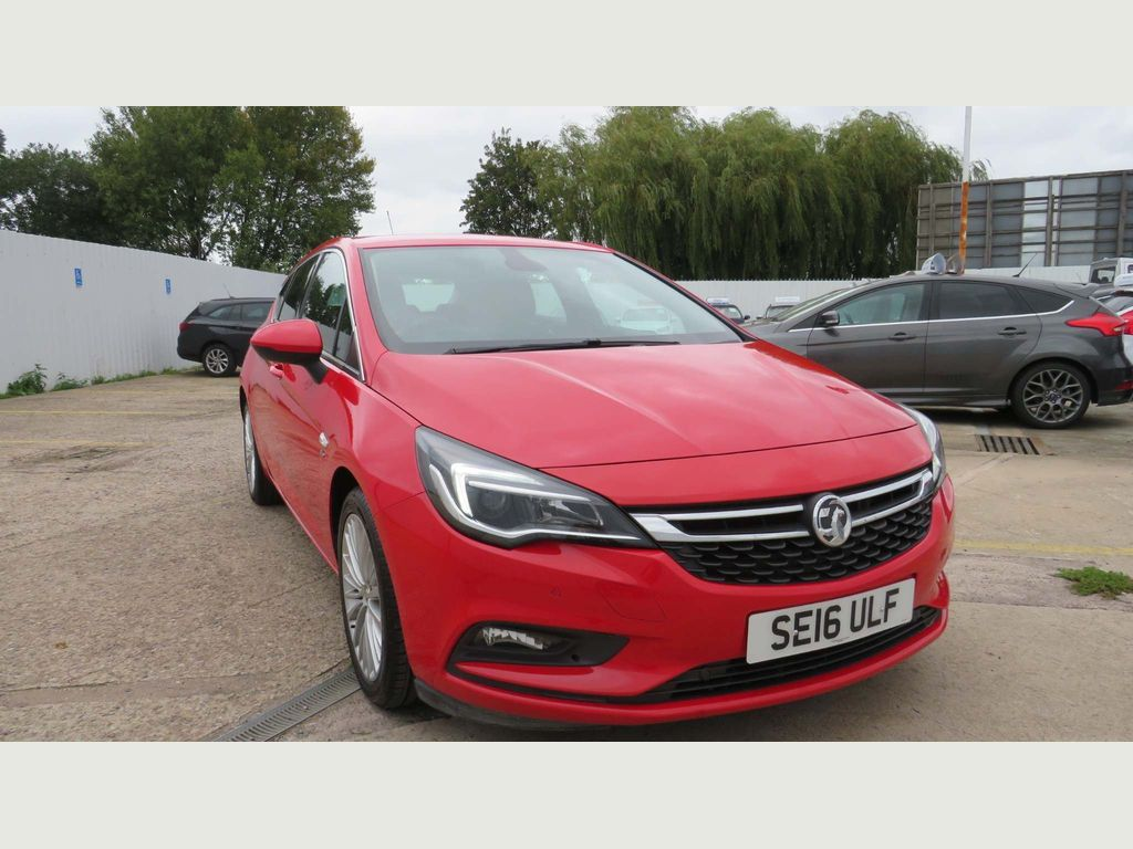 Vauxhall Astra Hatchback 1.6i Turbo Elite (s/s) 5dr