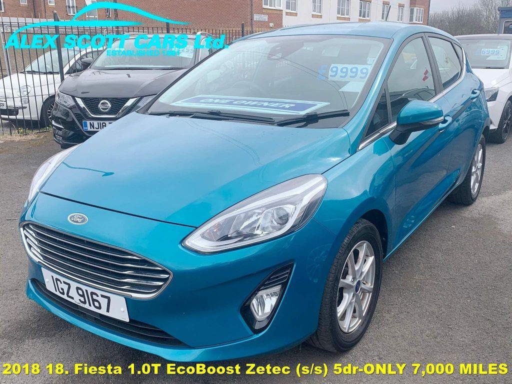 Ford Fiesta Hatchback 1.0T EcoBoost Zetec (s/s) 5dr