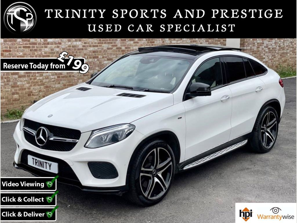 Mercedes-Benz GLE Class Coupe 3.0 GLE43 V6 AMG (Premium Plus) G-Tronic 4MATIC (s/s) 5dr