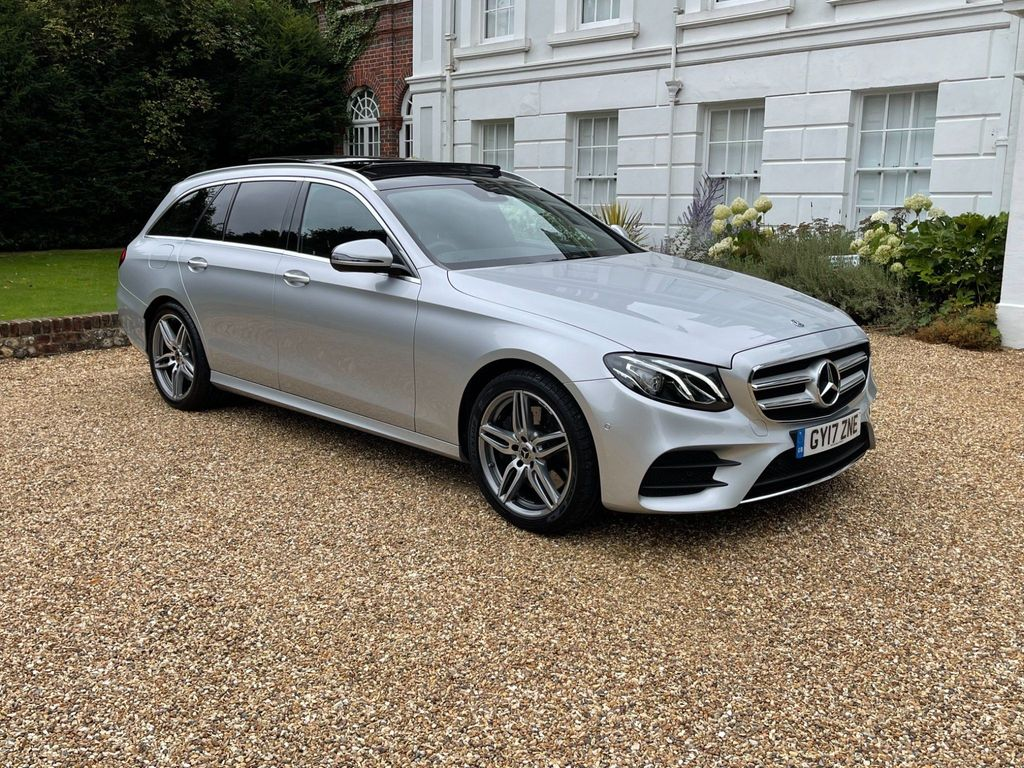 Mercedes-Benz E Class Estate 3.0 E350d V6 AMG Line (Premium) G-Tronic+ (s/s) 5dr